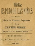 Cubierta para El espejo de las niñas: libro de poesías populares : tomo primero