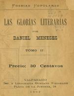 Cubierta para Las glorias literarias: Tomo II