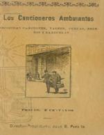 Cubierta para Los cancioneros ambulantes: escojidas canciones, valses, cuecas, brindis i zarzuelas