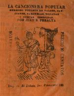 Cubierta para Teatro de los cantares: hermoso folletos de valses, canciones, zarzuelas, tonadas, i cuecas