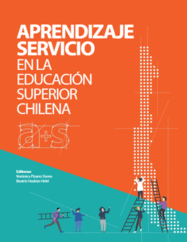 Cubierta para Aprendizaje Servicio en la Educación Superior Chilena