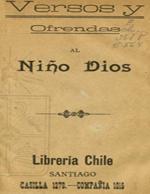 Cubierta para Versos y ofrendas al niño Dios