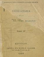Cubierta para [Dedicatoria al ilustre marino D. Juan J. Latorre]: Tomo IV