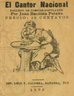 Cubierta para El cantor nacional: folletos de poesías populares