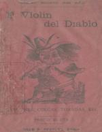 Cubierta para El violín del diablo: canciones, cuecas, tonadas, etc