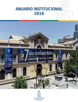 Cubierta para Anuario Institucional 2018