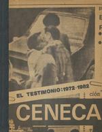Cubierta para El testimonio: 1972-1982 : (transformaciones en el sistema literario)