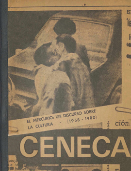Cubierta para El mercurio: un discurso sobre la cultura 1958-1980